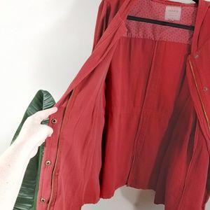 torrid Jackets & Coats - Torrid Lightweight Safari Hooded Anorack Jacket
